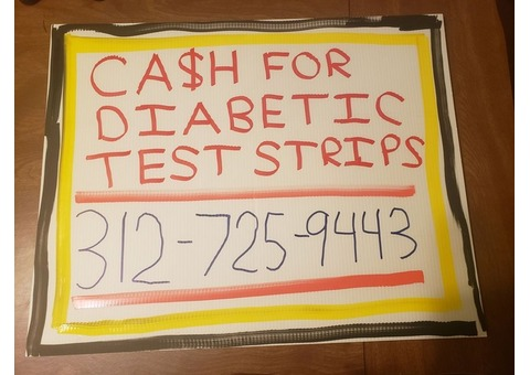 Looking To Buy Diabetic Glucose Test Strips Blood Sugar Level Checker