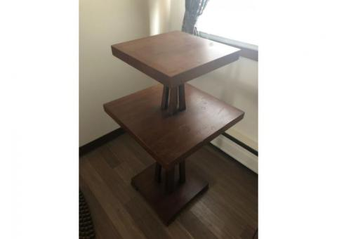 Tiered Wood Stand